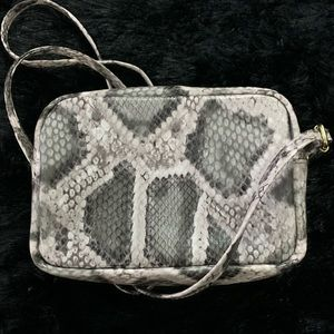 H&M Crossbody Snake Skin Print Bag